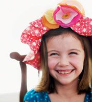 Tea party craft hat... too cute!  http://familyfun.go.com/crafts/party-crafts-706351/