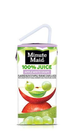Being born from the goodness of fruit, it makes adding minute Maid Kids Juices and Juice Drinks into lunchboxes a no brainer! Not only are they tasty and refreshing after a long day of learning and playing but they're easy to pack. Juice content varies. Gently Pasteurized.