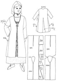 Wikinger Mantel More While you uncover or maybe help to make a great Viking halloween Costume Viking, Viking Reenactment, Viking Dress, Medieval Costume, Viking Tunic, Norse Clothing, Medieval Clothing, Irish Clothing, Viking Life