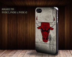 iphone case73 Chicago Bulls Basketball by rainbowcaseshop on Etsy, $15.99