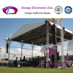 24x18m outdoor concert stage truss project
