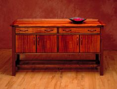 Craftsman High Buffet | Northwest Woodworkers' Gallery
