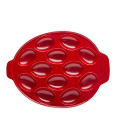 Love this Red Sprinkles Egg Tray by Zak Designs on #zulily! #zulilyfinds