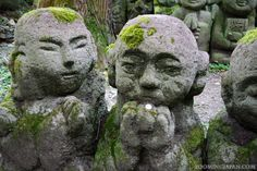 Photo of the Week (9/52):  The interesting expressions of the 1200 rakan stone statues at Otagi Nenbutsuji Temple in Kyoto: http://zoomingjapan.com/travel/otagi-nenbutsuji-temple/ #Japan #Kyoto  Have you been there yet? ^__^