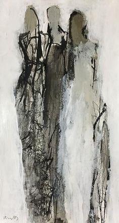 Holly Irwin – dk Gallery – Art – - Sites new Painting People, Figure Painting, Figure Drawing, Painting Tips, L'art Du Portrait, Portraits, Art Techniques, Figurative Art, Female Art