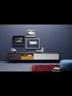 Mueble moderno de televisión. Comprar Mueble diseño Treku