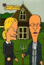 """BUTTHUMOR"" Gothic-sick. . .there's even a Beavis and Butthead parody."