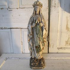 mary statue plaster - Google Search