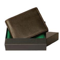 53fd3d5b804b9 Hamosons – Große Geldbörse   Portemonnaie Größe L für Herren aus Leder