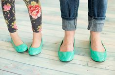 GroopDealz | Mother or Daughter Patent Ballet Flats in 3 Colors!