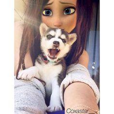 Asi quicera un perrito Hermosa Ana