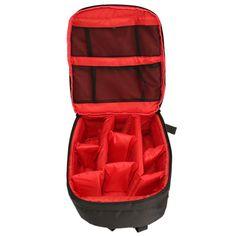 DL-B017 Waterproof DSLR Backpack Rucksack Case Bag for Video Photo Camera Lens Accessory