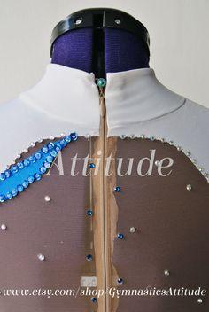 Rhythmic Gymnastics Leotard handmade with by GymnasticsAttitude