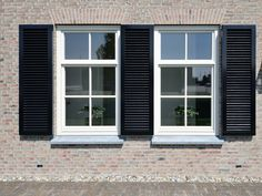 Window Curtains, Shutters, Decoration, Facade, My House, Garage Doors, Sweet Home, Windows, Living Room