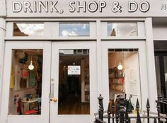 Drink, Shop, & Do café/bar in London