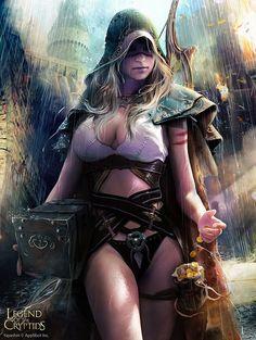 Brigand empress 2 by Bruno WAGNER | Fantasy | 2D | CGSociety