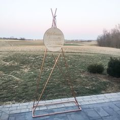 Copper Teepee Stand //Wedding Welcome Stand // Wedding Sign Stand // Seating Chart Stand // Teepee stand // copper teepee Wedding Signs, Our Wedding, Wedding Ideas, Copper Wedding Decor, Wedding Welcome, Seating Charts, Hanging Chair, Decorative Items, Special Events