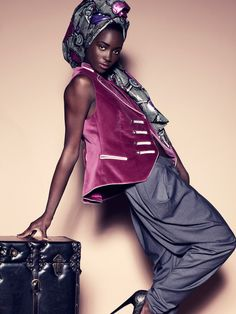 "Fabulous Head Wraps - African Designers & Models - Part 2- Funky Fashions - Funk Gumbo Radio: http://www.live365.com/stations/sirhobson and ""Like"" us at: https://www.facebook.com/FUNKGUMBORADIO"