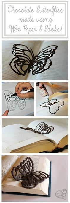 Chocolate Butterfly - DIY