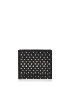 MARC BY MARC JACOBS New Q Degrade Studded Emi Wallet | Bloomingdale's