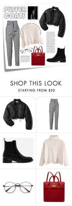 """""""Stay Warm: Puffer Coats"""" by spencer-hastings-5 ❤ liked on Polyvore featuring Post-It, 3.1 Phillip Lim, CHARLES & KEITH, Mulberry, Minimalist, staywarm, TroianBellisario and puffercoats"""