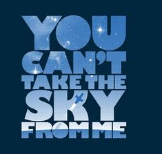 You Can't Take the Sky by geekchic_tees - Sold on November 6th at http://teefury.com