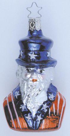 Inge Glas 2001#Christbaumschmuck#aus dem Hause Inge Glas.Weihnachtsbaumschmuck made in Germany mundgeblasen und von Hand bemalt bei www.gartenschaetze-online.de