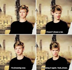 Thomas Sangster - Most distinctive feature?