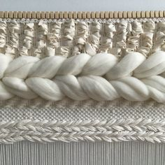 Woven Wall Hanging Ivory and Neutrals Weaving