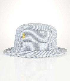 3321515df Polo Ralph Lauren Seersucker Beachside Bucket Hat  Dillards