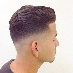 Men's fade haircut can come in various forms and you need to know the different ones before you can choose the right one for you. Cool Haircuts, Haircuts For Men, Modern Haircuts, Hairstyles Haircuts, Straight Hairstyles, Medium Hair Styles, Short Hair Styles, Mens Hair Trends, Fade Haircut