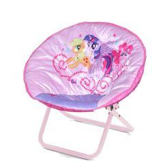 My Little Pony Mini Saucer Chair, Purple