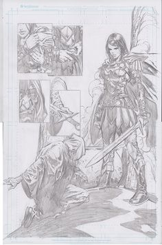 "Images for : ""Wonder Woman's"" Meredith & David Finch Discuss Donna Troy's New 52 Introduction - Comic Book Resources Comic Book Layout, Comic Book Pages, Comic Book Artists, Comic Artist, Comic Books Art, Figure Drawing Practice, Comic Book Drawing, David Finch, Hq Dc"