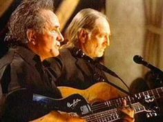 Ghost Riders (In the Sky) - Willie Nelson & Johnny Cash, via YouTube.  for bob ! love