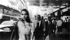Jane Fonda in Times Square, 1960.