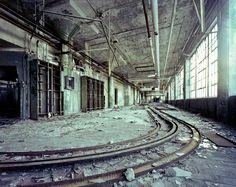 Fisher Body 21 - Tracks, Detroit, 2011  Sean Galbraith