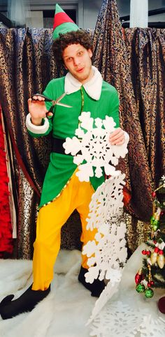 Buddy the Elf Costume, Christmas Movie 'Elf' Will Ferrell Costume, Christmas Party Elf Costume Christmas Character Costumes, Christmas Movie Characters, Movie Character Costumes, Holiday Movie, Family Costumes, Christmas Costumes, Christmas Movies, Christmas Themes, Christmas Holiday