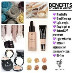 The benefits of Younique outweigh all other product lines! All-Natural, Cruelty Free, Chemical Free, Talc Free... www.aletasbeautyboutique.com https://www.beauty-secrets.us/product/101homemade-remedie