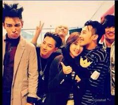 Bigbang with dara Gd Bigbang, Bigbang G Dragon, Daesung, G Dragon Girlfriend, G Dragon Top, Sandara Park, When You See It, Ji Yong, Park Photos