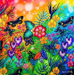 Magical Jungle garden