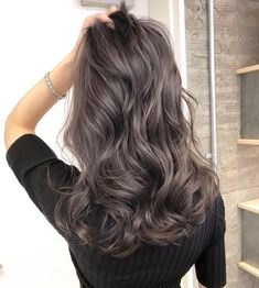 Black Coffee Hair With Ombre Highlights - 10 Cool Ideas of Coffee Brown Hair Color - The Trending Hairstyle Cool Tone Brown Hair, Ash Brown Hair Color, Brown Hair Shades, Brown Hair With Blonde Highlights, Brown Ombre Hair, Light Brown Hair, Hair Highlights, Dark Hair, Medium Ash Brown Hair