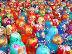 Nesting Dolls    Photograph by Victor Tregubov, My Shot    Moscow