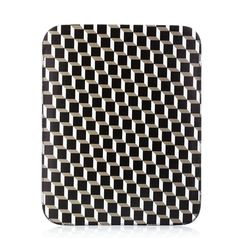 Pierre-Hardy Pochette diPad en cuir imprimé http://www.vogue.fr/mode/shopping/diaporama/illusions-d-optique-noir-et-blanc-louis-vuitton-marc-jacobs-balmain-rayures-damiers-losanges/12236/image/736909#pierre-hardy-pochette-d-039-ipad-en-cuir-imprime