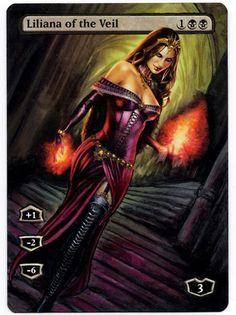 Painted: Liliana of the Veil Full Art | iplaythisgame?