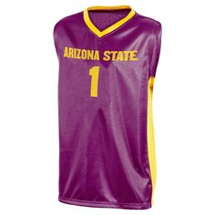 NCAA Arizona State Sun Devils Boys' V-Neck Replica Basketball Jersey - XL,