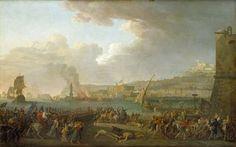 Entrée de l'Armée française à Naples (21 janvier 1799). - Jacques TAUREL