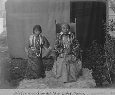 Sinkiuse-Columbia sister and granddaughter of Chief Moses,  Colville Indian Reservation,  Washington,  ca. 1902.  Photo by Edward H. Latham