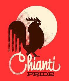 Chianti Pride | Designer: Marco Goran Romano - http://www.behance.net/goranportfolio