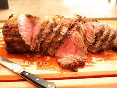 Herb-roasted Prime Rib recipe from Ree Drummond via Food Network recipes side dishes paula deen recipes side dishes potlucks recipes side dishes ree drummond recipes side dishes veggies Rib Recipes, Roast Recipes, Cooking Recipes, Recipies, Whole30 Recipes, Steak Recipes, Gourmet Recipes, Yummy Recipes, Cooking Tips