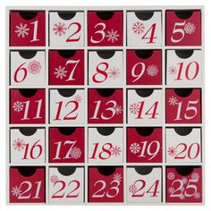 Cheerful Advent Calendar Box